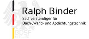 Ralph Binder der Dachverständiger